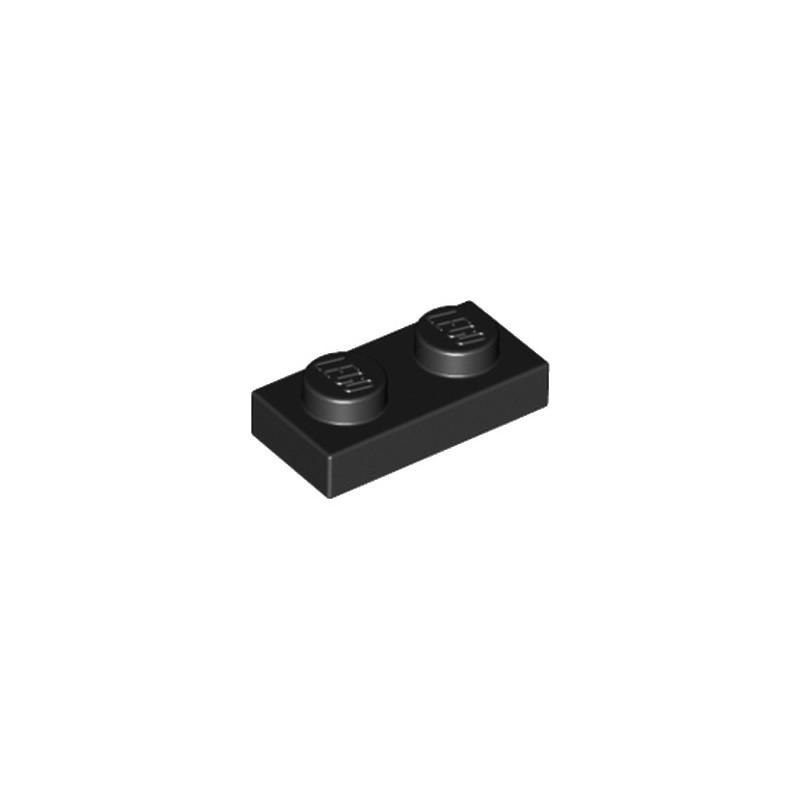 LEGO 302326 PLATE 1X2 - BLACK