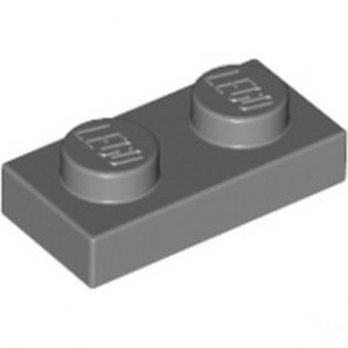 LEGO 4211063 PLATE 1X2 - DARK STONE GREY