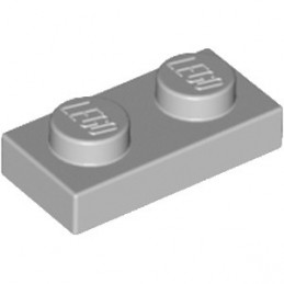 LEGO 4211398 PLATE 1X2 - MEDIUM STONE GREY