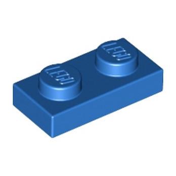 LEGO 302323  PLATE 1X2 - BLEU