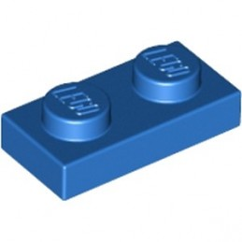 LEGO 302323  PLATE 1X2 - BLUE