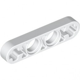 LEGO 6360072 LEVER 1X4, WITHOUT NOTCH - WHITE