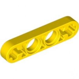 LEGO 4155068 LEVER 1X4, WITHOUT NOTCH - JAUNE