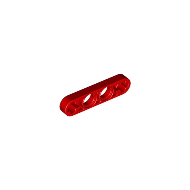 LEGO 4141811 LEVER 1X4, WITHOUT NOTCH - ROUGE