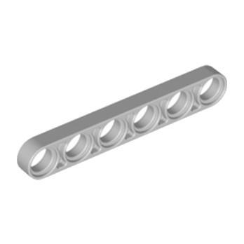 LEGO 4211586 - TECHNIC 6M HALF BEAM - Medium Stone Grey
