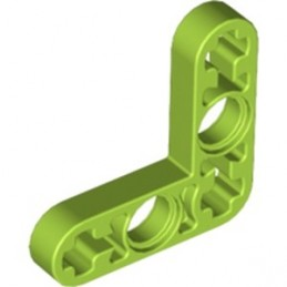 LEGO 6133508 TECHNIC LEVER 3X3M, 90° - BRIGHT YELLOWISH GREEN