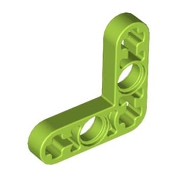 LEGO 6133508 TECHNIC LEVER 3X3M, 90° - BRIGHT YELLOWISH GREEN