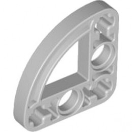 LEGO 4263591 HALFBEAM CURVE 3X3 - MEDIUM STONE GREY
