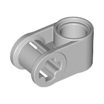 LEGO 4211775 CROSS BLOCK 90° - Medium Stone Grey