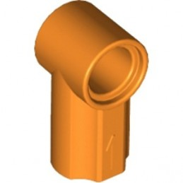 LEGO 6135091 - ANGLE ELEMENT, 0 DEGREES [1] - Orange