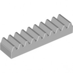 LEGO 4211450  TOOTHED BAR M1, Z10 - MEDIUM STONE GREY