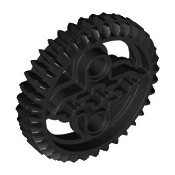 LEGO 4177434 DOUBLE CONICAL WHEEL Z36 - Black