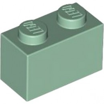 LEGO 4616581 BRIQUE 1X2 - SAND GREEN