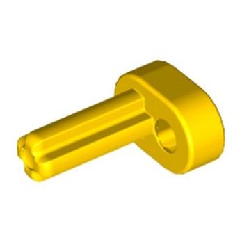 LEGO 4119474 - MANIVELLE / PLASTIC MOTOR, CRANK/CROSS - JAUNE