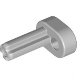LEGO 6000018 PLASTIC MOTOR, MAIN ROD  / BIELLE - MEDIUM STONE GREY