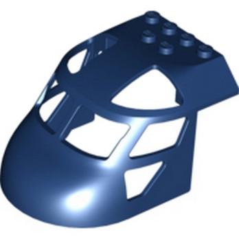 LEGO 6097643 - Nez Hélicopère 6X8X4 - Bleu Marine