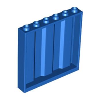 LEGO 6132335 MUR / CLOISON CONTAINER 1X6X5 - BLEU