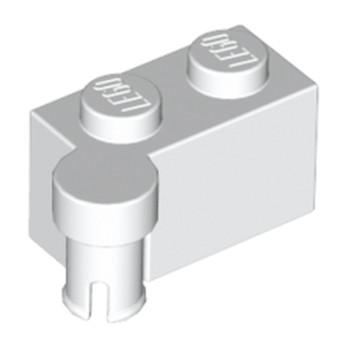 LEGO 6327411 HINGE 1X2 UPPER PART - WHITE