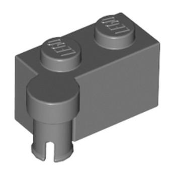 LEGO 4221591 - BRIQUE 1X2 CHARNIERE HAUT - DARK STONE GREY lego-6011461-brique-1x2-charniere-haut-dark-stone-grey ici :