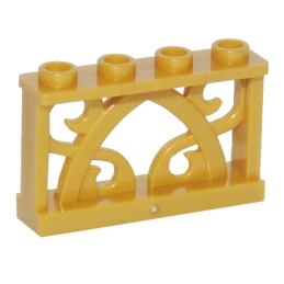 LEGO 6097234 BALUSTRADE - WARM GOLD