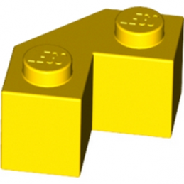 LEGO 4581524 Brick 2x2 w. angle 45 degrees - Jaune