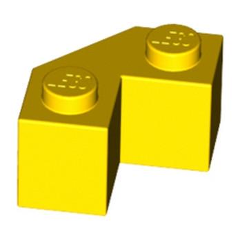 LEGO 4581524 BRIQUE 2X2 ANGLE 45° - JAUNE