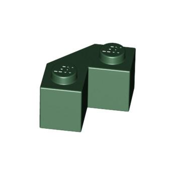LEGO 4631911Brick 2x2 w. angle 45 degrees - Earth Green