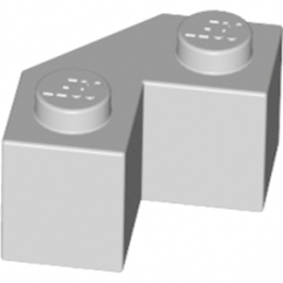 LEGO 4651063 BRIQUE 2X2 ANGLE 45° - MEDIUM STONE GREY