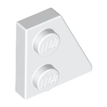 LEGO 6132204 - Plate 2x2 27DEG Droite - Blanc lego-6132204-plate-2x2-27deg-droite-blanc ici :