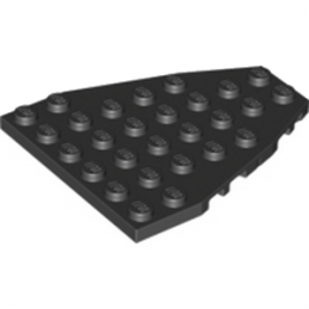 LEGO 4239365 STEM PLATE 7X6 W/COR. - NOIR