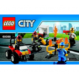 Notice / Instruction Lego City 60088