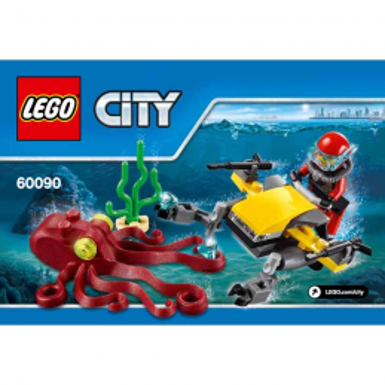 Notice / Instruction Lego City 60090
