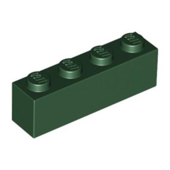 LEGO 4245571 BRIQUE 1X4 - EARTH GREEN
