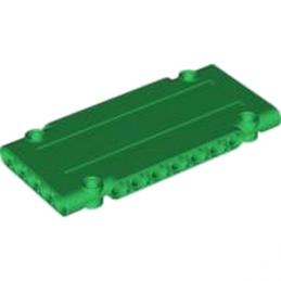 LEGO 4545101 -  Technic Flat Panel 5 x 11 - DARK GREEN