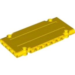 LEGO 4539112 -  Technic Flat Panel 5 x 11 - Jaune