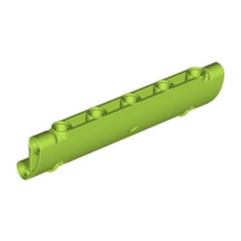 LEGO 6308250 TECHNC SHELL 3X11X2 Ø 4.85 - BRGHT YELLOWISH GREEN