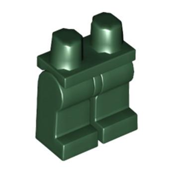 LEGO 6004681 JAMBE - EARTH GREEN
