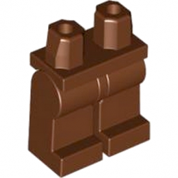 LEGO 4569114 -  Jambe - RED. BROWN lego-4569114-jambe-reddish-brown ici :
