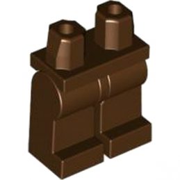 LEGO 4631562 JAMBE - DARK BROWN