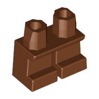 LEGO 4270443 PETITE JAMBE - REDDISH BROWN