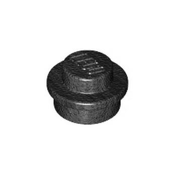 LEGO 6038201 PLATE 1X1 ROUND - TITAN. METAL