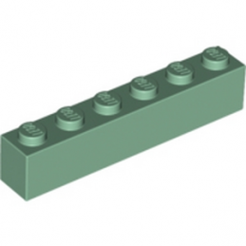 LEGO 4155053 BRIQUE 1X6 - SAND GREEN