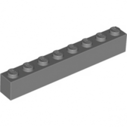 LEGO 4211099 Brique 1X8 - Dark Stone Grey