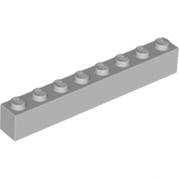 LEGO 4211392 Brique 1X8 - Medium Stone Grey