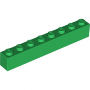 LEGO 4143953 BRICK 1X8 - DARK GREEN