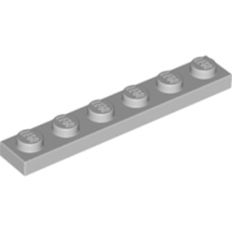LEGO 4211438  - Plate 1X6 - Medium Stone Grey
