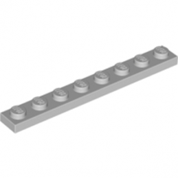 LEGO 4211425 PLATE 1X8 - MEDIUM STONE GREY