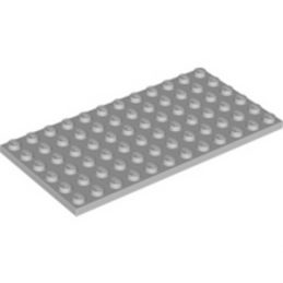 LEGO 4211400 	PLATE 6X12 - Medium Stone Grey