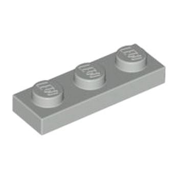 LEGO 4211429 PLATE 1X3 - MEDIUM STONE GREY