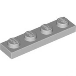 LEGO 4211445	PLATE 1X4 - Medium Stone Grey